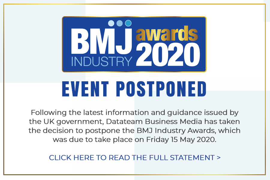 Announcement: BMJ Industry Awards 2020 postponed